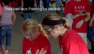 face paint up