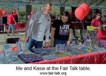 kasie and dave up